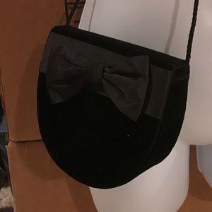 Vintage Velvet clutch/crossbody purse